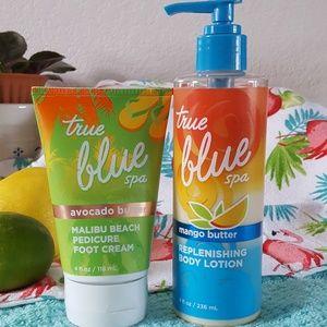 Bath & Body Works True Blue Spa
